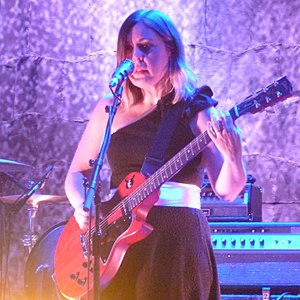 Corin Tucker - Tucker performing live with Sleater-Kinney in London, 2015