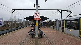 Cornbrook tram stop - Image: Cornbrook tram stop
