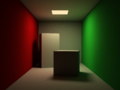 Cornell Box mental ray maya.png