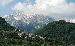 Corno grande e Pietracamela, Gran Sasso, Province of Teramo, Abruzzo, Italy - panoramio.jpg