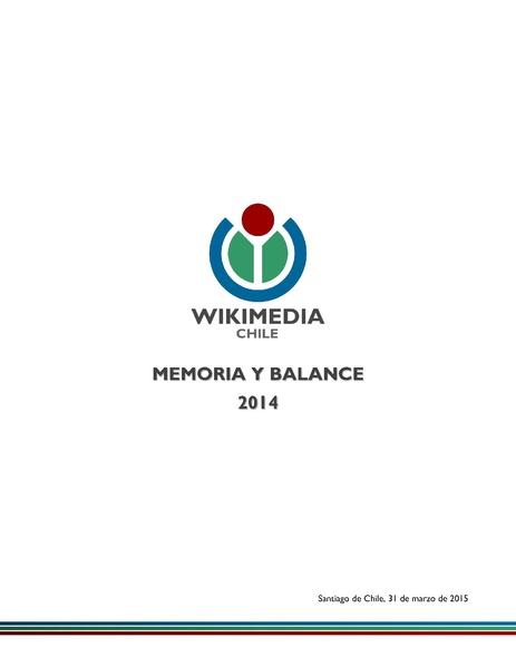 File:Corporación Wikimedia Chile - Memoria y Balance 2014.pdf