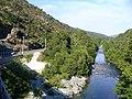 Corsica - Barchetta-Ponte Novu train - Golo river - panoramio.jpg