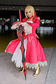 Cosplayer of Saber from Fate EXTRA in PF22 20150509.jpg