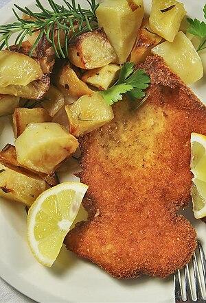Cotoletta - Cotoletta with potatoes