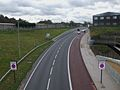 Coulsdon Relief Road look south near Smitham stn.JPG