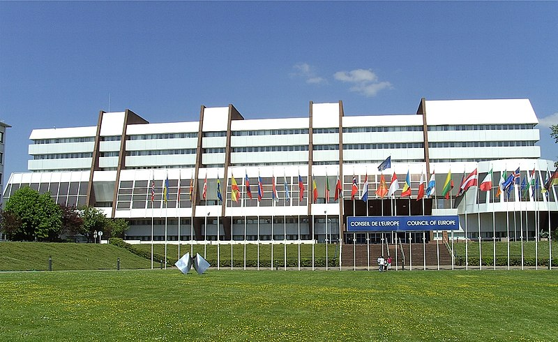 The Palace of Europe in Strasbourg