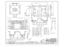 Courtview, 505 North Court Street, University of North Alabama Campus, Florence, Lauderdale County, AL HABS ALA,39-FLO,2- (sheet 16 of 17).png