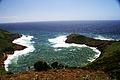 Crateras vulcânica do Monte da Guia, Caldeirinhas, dia de tempestade, Concelho da Horta, ilha do Faial, Açores, Portugal.JPG