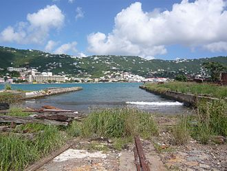 Hassel Island, U.S. Virgin Islands - Creque Marine Railway, Hassel Island