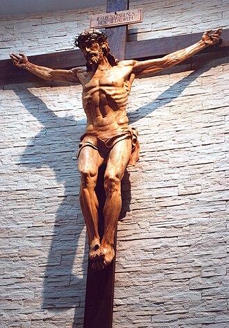 Rafael Pi Belda - Cristo crucificado, Rafael Pi Belda (Parroquia de San Luis Obispo, Valencia, Spain).