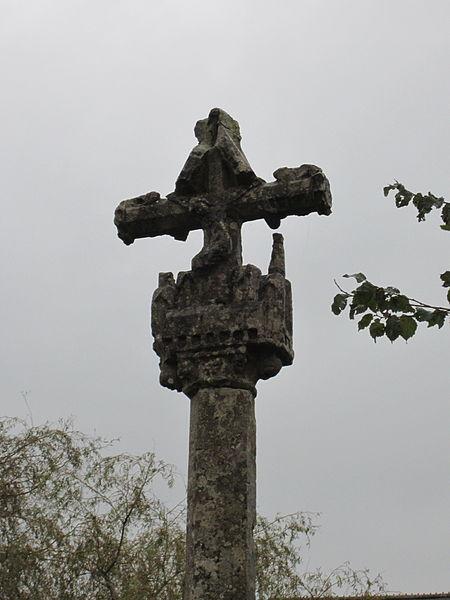 Croix des Damiens, calvaire du XVe à fr:Éroudeville