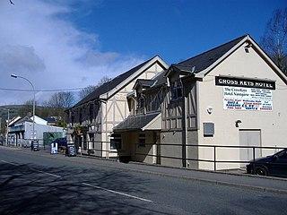 Nantgarw village in Wales