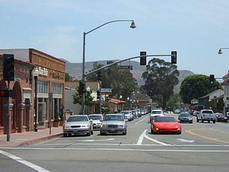 San Juan Capistrano, California - Downtown San Juan Capistrano