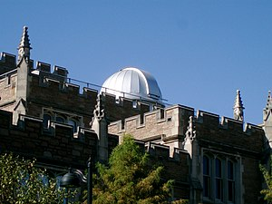 Crow Observatory - Crow Observatory dome