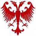 Crveni dvoglavi orao (glavni heraldicki simbol srednjovekovne Srbije u doba Nemanjica).jpg