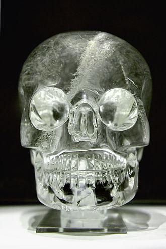 Crystal skull - Image: Crystal skull british museum random 9834672