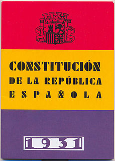 Spanish Constitution of 1931