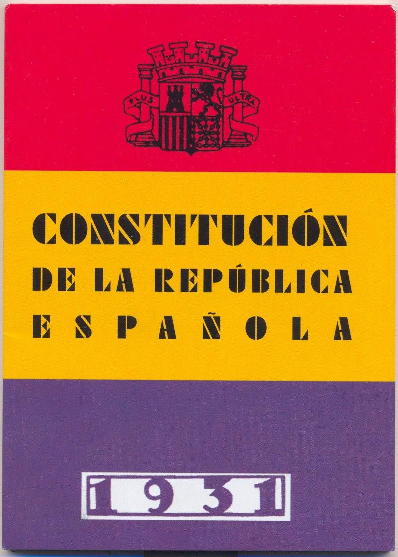 Cubierta constitucion1931