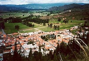 Cucunubá - View of Cucunubá