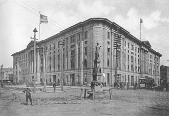 Battle of Liberty Place - Custom House, 1892