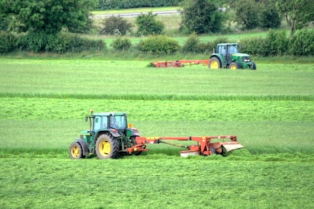 Cutting the Silage - geograph.org.uk - 865324