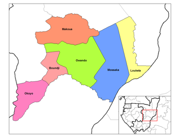 Makoua District in the region