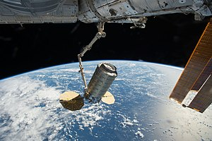 Mobile Servicing System - Canadarm2 captures Cygnus 7 in late 2016