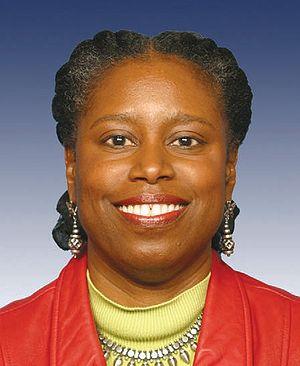 Former Representative Cynthia McKinney of Georgia