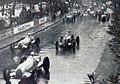 Départ du Grand Prix de Monaco 1936, Caracciola devant Chiron et Nuvolari sous la pluie.jpg