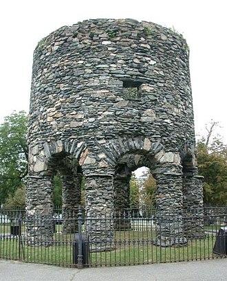 Newport Tower (Rhode Island) - The Newport Tower.