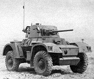 Daimler Armoured Car - 300 px