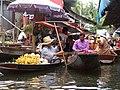 Damneon Saduak-Floating market - Plovoucí trh Damneon Saduak - panoramio - Thajsko (5).jpg