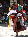 Dance of the Black Hats with Drums, Paro Tsechu.jpg