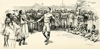Jazz - Dance in Congo Square in the late 1700s, artist's conception by E. W. Kemble from a century later
