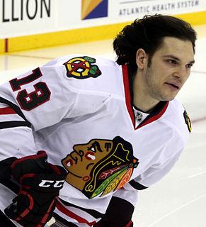 Daniel Carcillo ice hockey player
