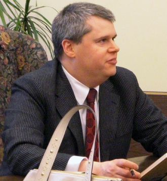 Daniel Handler - Handler at a book signing in 2006