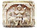 Daniel lions Egypte 6th century British Museum.jpg