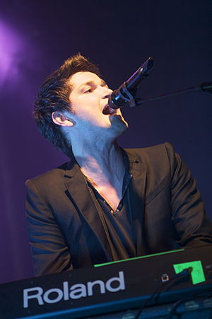 The Voice UK - Image: Danny The Script en Barcelona