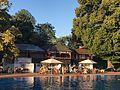 Das Vereinsbad des Höchster Schwimmvereins befindet sich direkt neben der Siedlung Im Mittleren Sand..jpg