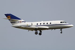 Dassault Falcon 20 business jet family by Dassault