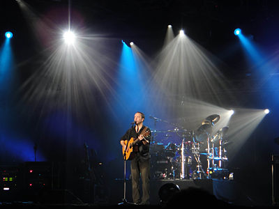 Dave Matthews Band was the closing headliner at Bonnaroo 2010