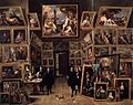 David Teniers (II) - Archduke Leopold Wilhelm in his Gallery - WGA22061.jpg
