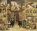 David Teniers the Younger - Die Galerie des Erzherzogs Leopold Wilhelm in Brüssel.jpg