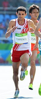 David Torrence (athlete) Peruvian-American middle-distance runner