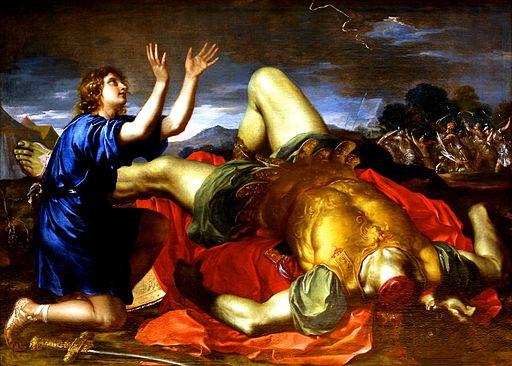 David and Goliath -1700s