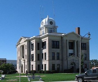 Daviess County, Missouri - Image: Daviess courthouse cropped
