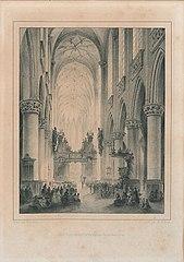 De Sint-Jacobskerk, van binnen