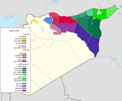 De facto cantons of Rojava-ar.png