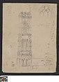 De toren van Sint-Baafskerk in Gent, circa 1811 - circa 1842, Groeningemuseum, 0041568000.jpg