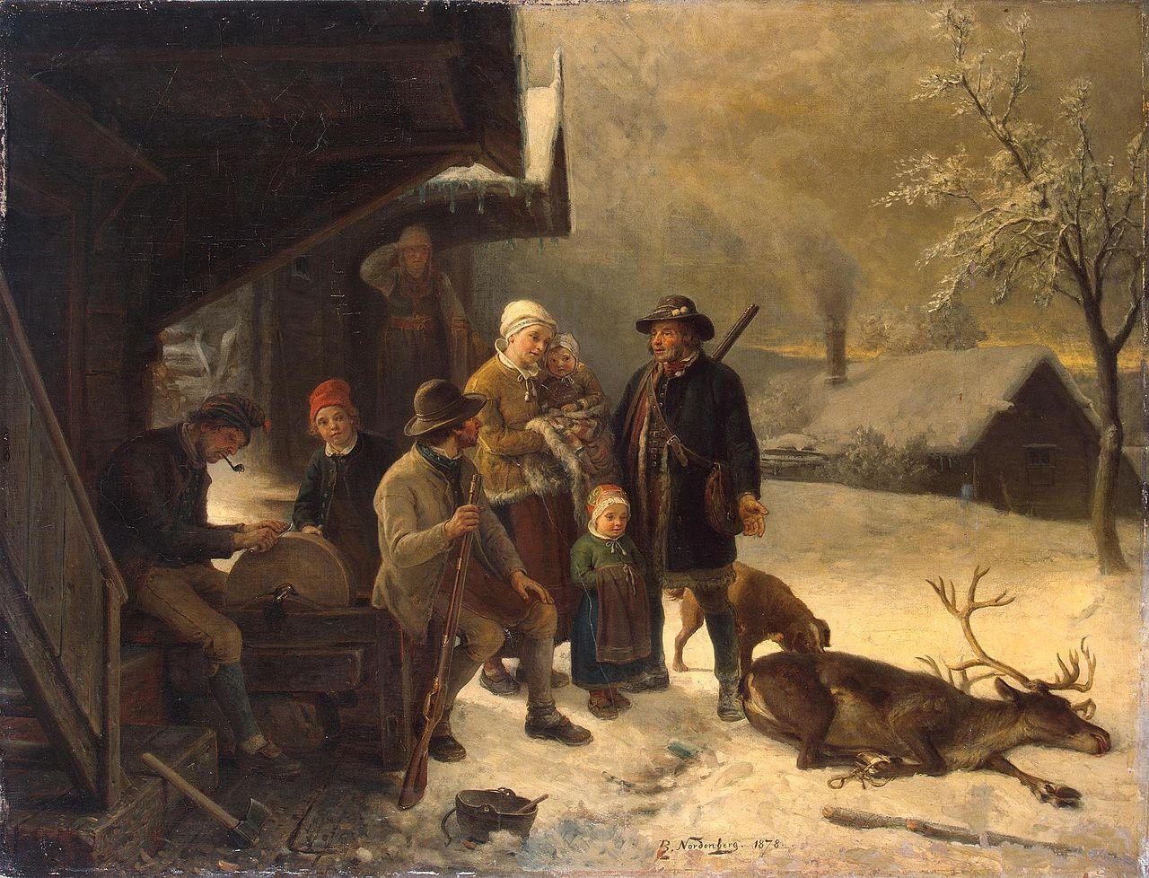 Dead Stag 1878 Bengt Nordenberg.jpg